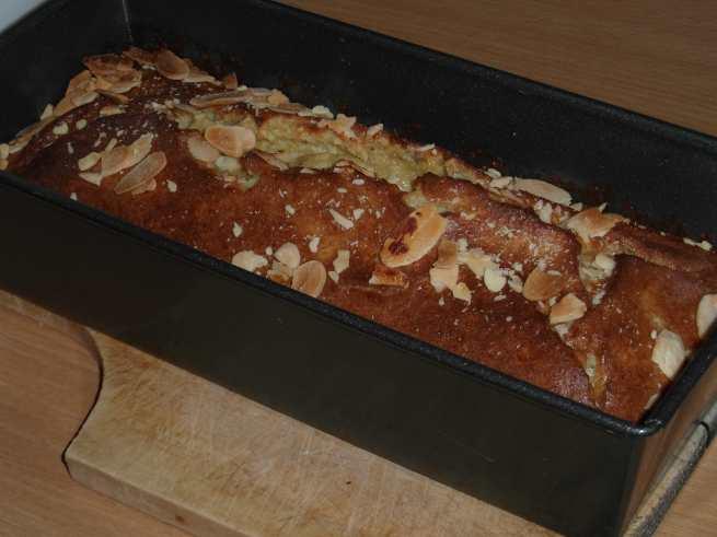 Banánový chleba, čerstvě z trouby
