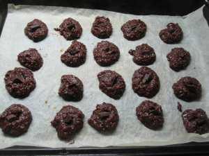 Sušenky na plechu