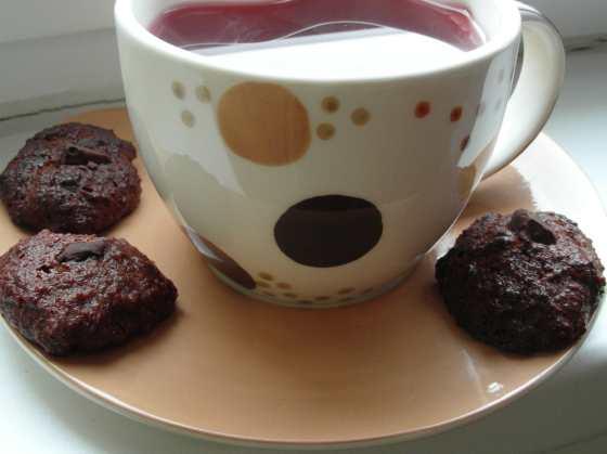 Čajík se sušenkami