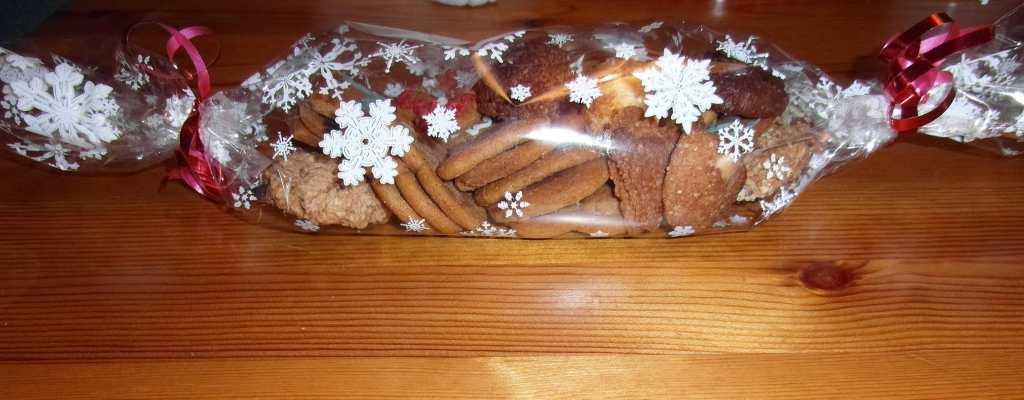 Bonbónové balení sušenek