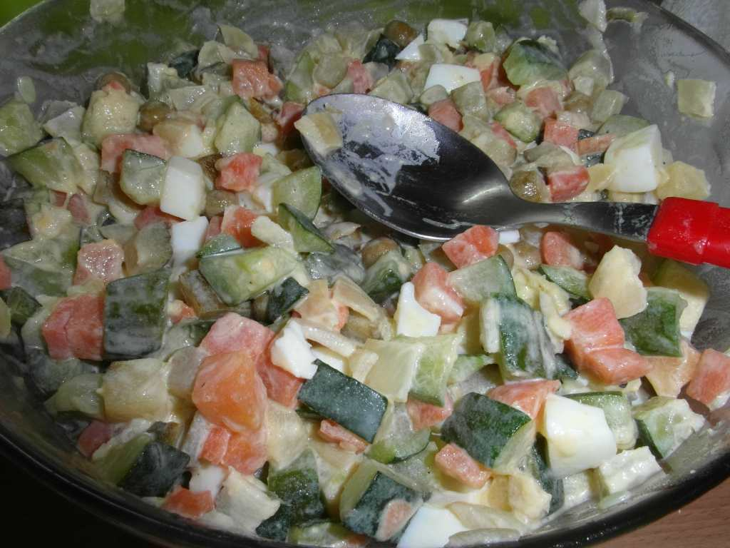 Tak trochu jiný .. ale paleo bramborový salát