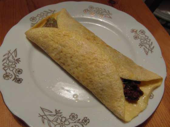 Srolované burrito
