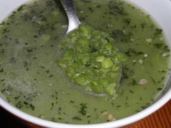 Hráškový polévka
