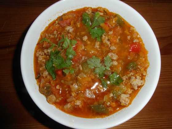 Barevný chilli kotlík