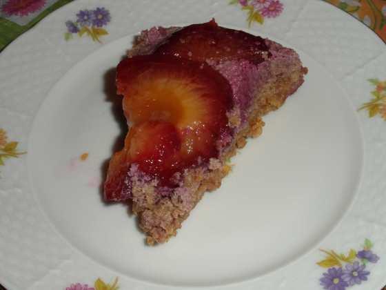 Jeden kousek švestkového koláče