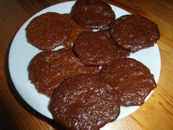 Hotové halva sušenky