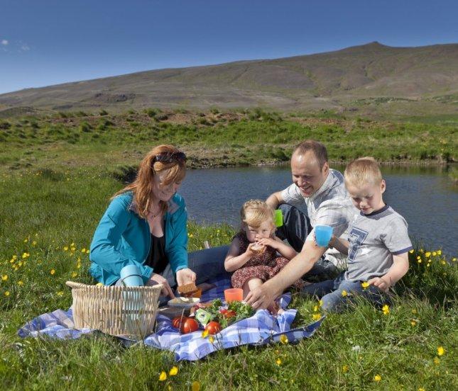 Piknik v přírodě