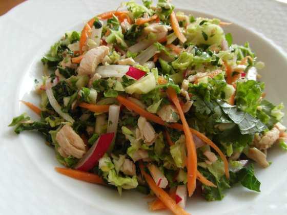 Kuřecí čínský salát