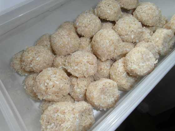 Citrónové kokosky