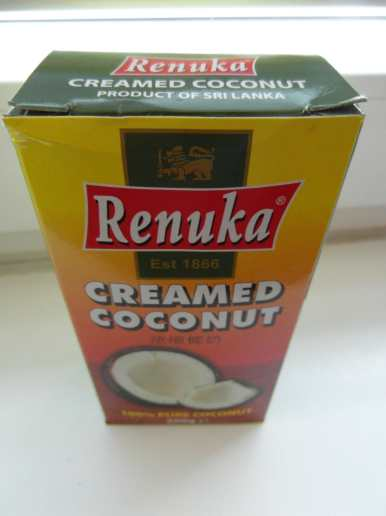 Renuka kokosová pasta