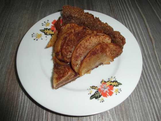 Jablečný koláč s pekanovou krustou