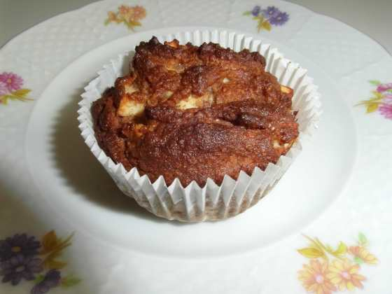 Jablečný muffin se skořicí