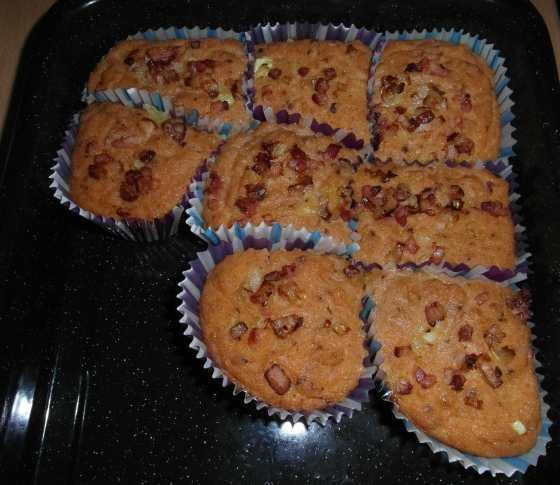Rajčatové muffiny po vypečení