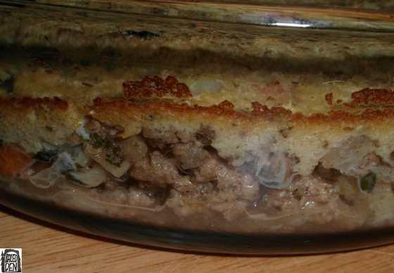 Pastýřův koláč (Shepherd's pie) - vrstvy