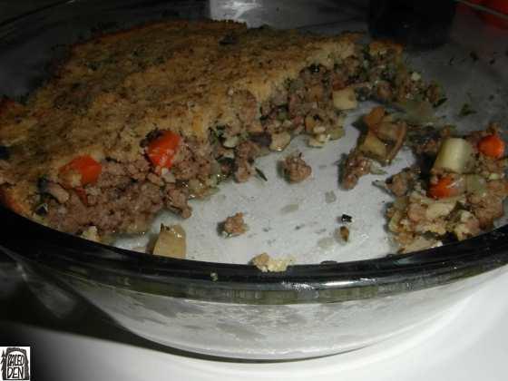 Pastýřův koláč (Shepherd's pie) - v míse