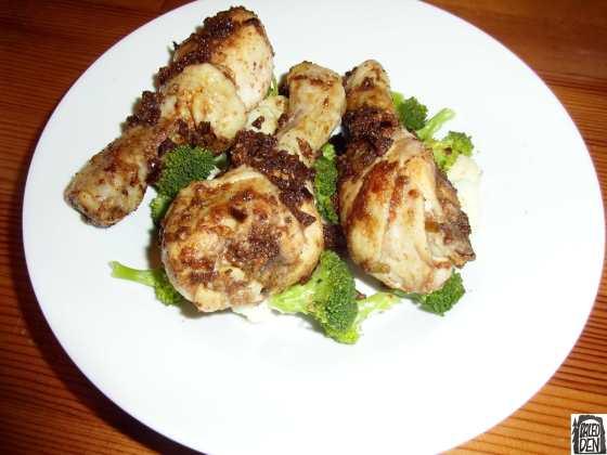 Voňavé kuře na kmíně