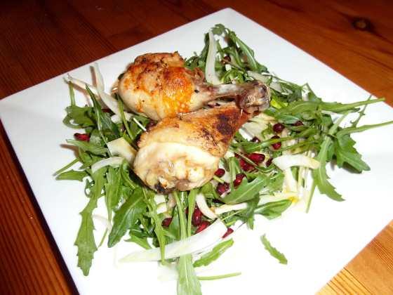 Salát s kuřetem
