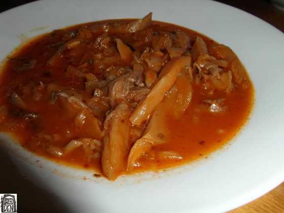 Falešná dršťková polévka
