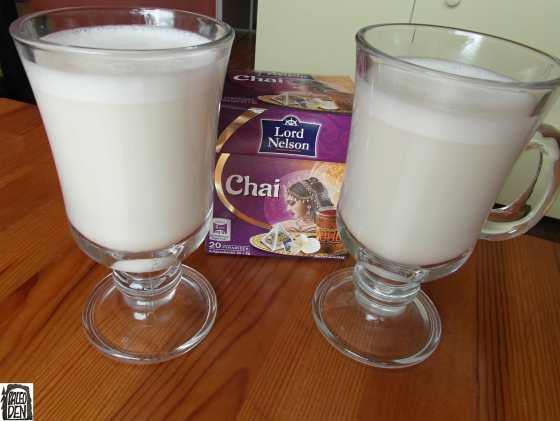 Chai latté