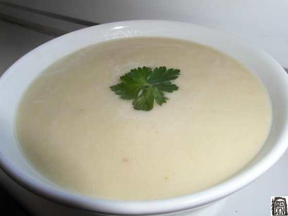 Krémová chřestová polévka