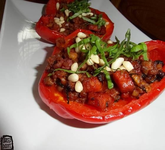 Plněné papriky na italský způsob