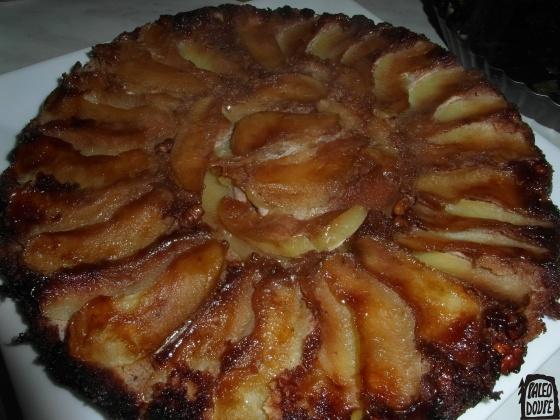 Jablečný koláč bez omáčky