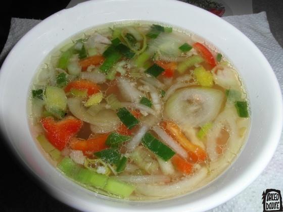 Ozdravující asijská polévka